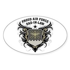 Proud Air Force Dad-in-law Decal
