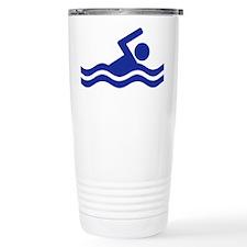 Swimming Travel Coffee Mug