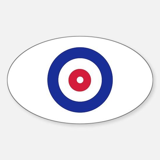 Curling Sticker (Oval)