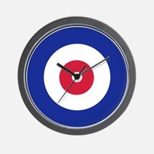 Curling Wall Clock