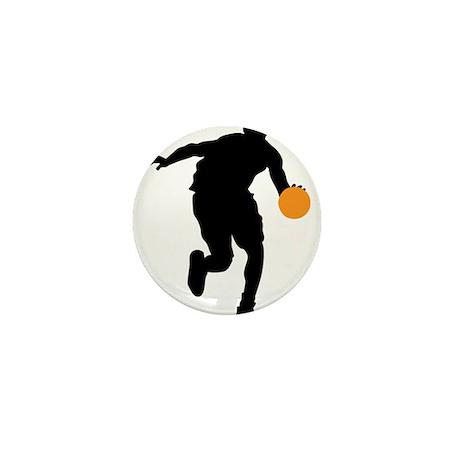 BASKETBALL *74* Mini Button (10 pack)