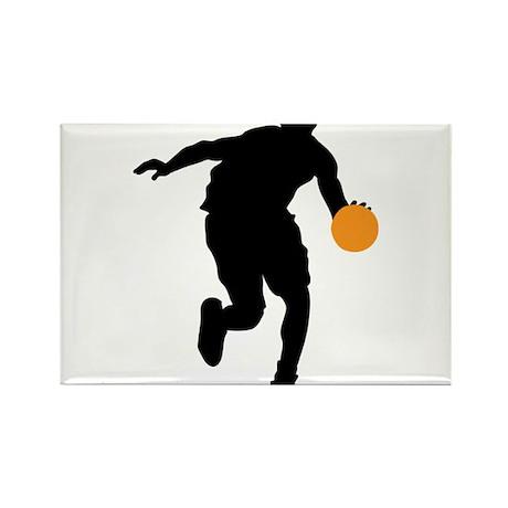 BASKETBALL *74* Rectangle Magnet (10 pack)