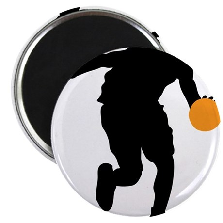 "BASKETBALL *74* 2.25"" Magnet (10 pack)"