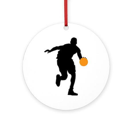 BASKETBALL *74* Ornament (Round)
