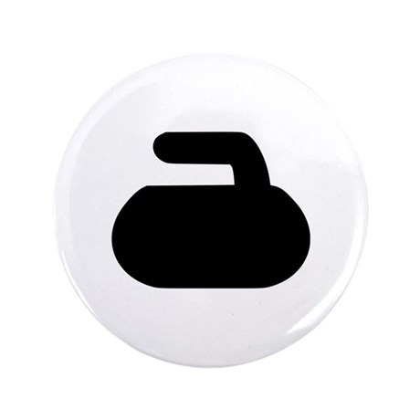 """Curling 3.5"""" Button"""