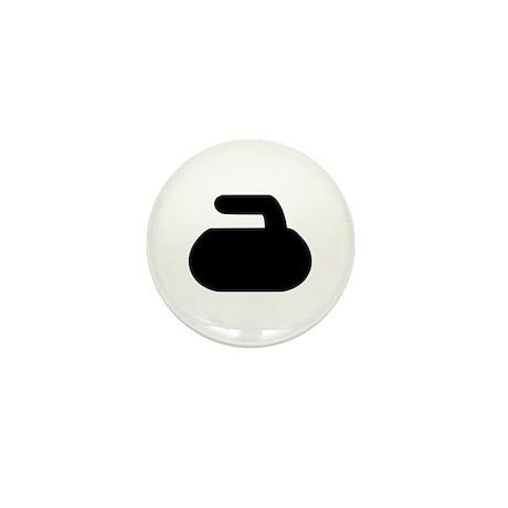 Curling Mini Button (10 pack)
