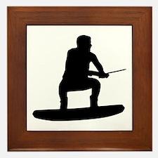 Wakeboarding Framed Tile