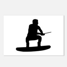 Wakeboarding Postcards (Package of 8)