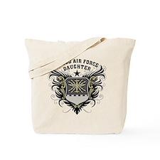 Proud Air Force Daughter Tote Bag