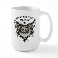 Proud Air Force Fiancee Mug