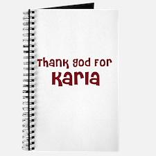 Thank God For Karla Journal