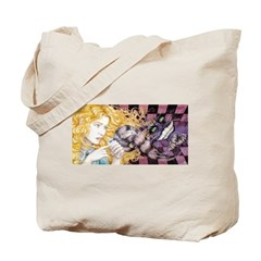 Alice & Cheshire Tote Bag