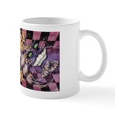 Alice & Cheshire (light) Small Mugs