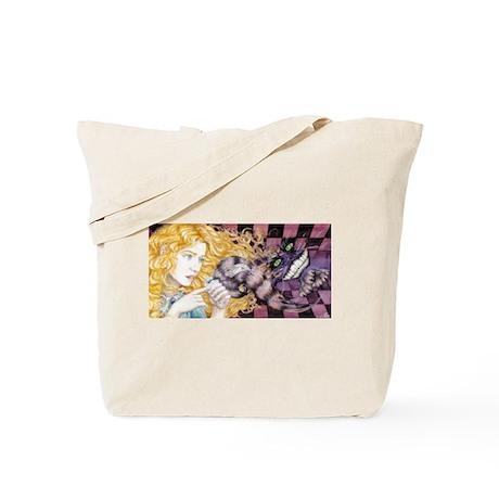 Alice & Cheshire Tote Bag