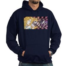 Alice & Cheshire (light) Hoodie