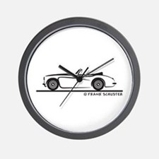 Austin Healey 3000 MK II Wall Clock