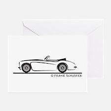 Austin Healey 3000 MK II Greeting Cards (Pk of 20)