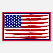 Kayak Flag Decal