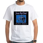 Jordan High School Panthers White T-Shirt