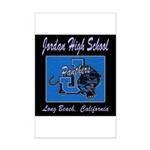 Jordan High School Panthers Mini Poster Print