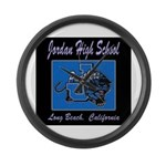 Jordan High School Panthers Large Wall Clock