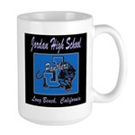 Jordan High School Panthers Large Mug