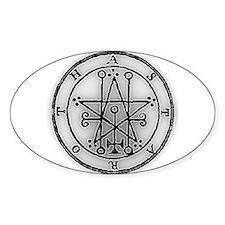 Astaroth Oval Decal