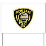 Avon Lake Police Yard Sign