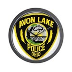 Avon Lake Police Wall Clock
