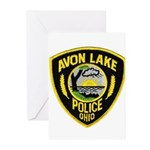 Avon Lake Police Greeting Cards (Pk of 10)