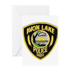 Avon Lake Police Greeting Card