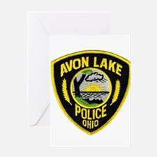 Avon Lake Police Greeting Card