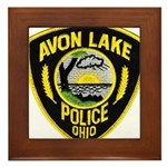 Avon Lake Police Framed Tile