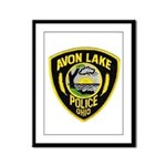 Avon Lake Police Framed Panel Print