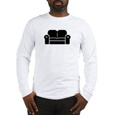 Couch Long Sleeve T-Shirt