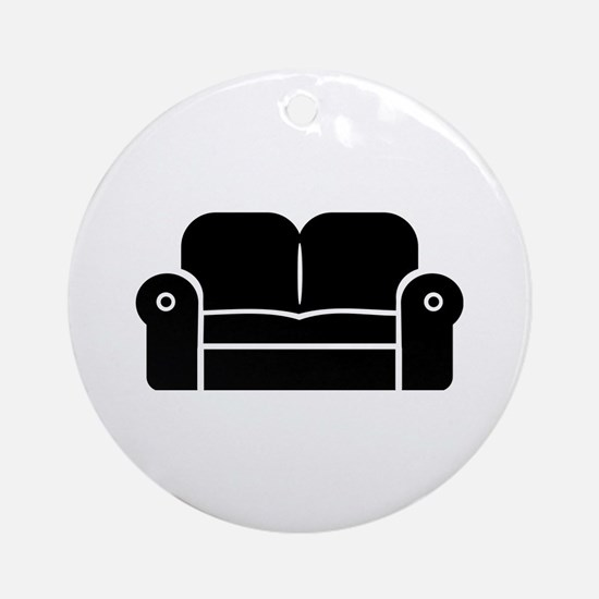 Couch Ornament (Round)