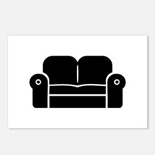 Couch Postcards (Package of 8)