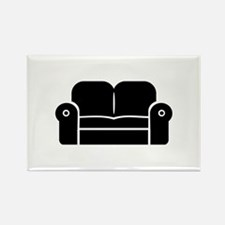 Couch Rectangle Magnet