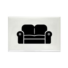 Couch Rectangle Magnet (10 pack)