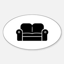 Couch Sticker (Oval)