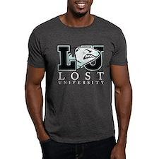 LU Bear and Text Dark T-Shirt
