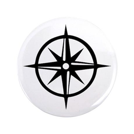"""Compass 3.5"""" Button"""