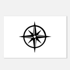 Compass Postcards (Package of 8)