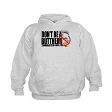Don't Be A Butthead Stop Smok Hoodie