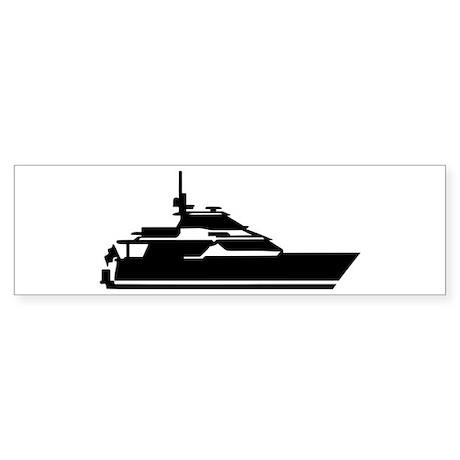 Boat - yacht Sticker (Bumper)