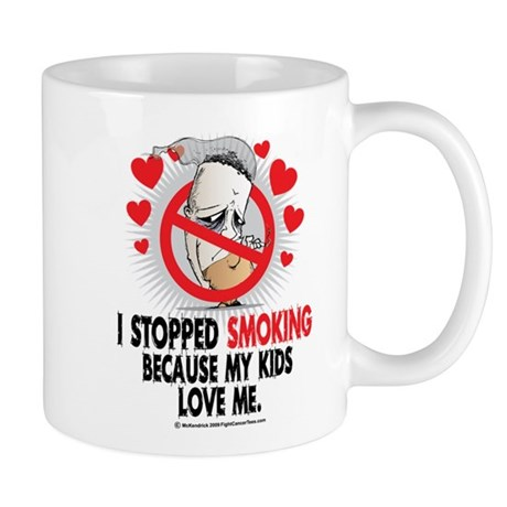 Stopped Smoking Kids Mug