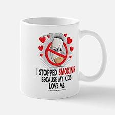 Stopped Smoking Kids Mug