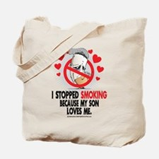 Stopped Smoking Son Tote Bag