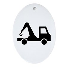 Truck Ornament (Oval)