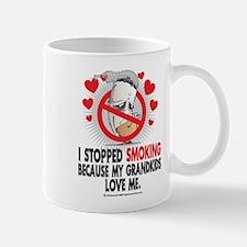 Stopped Smoking Grandkids Mug